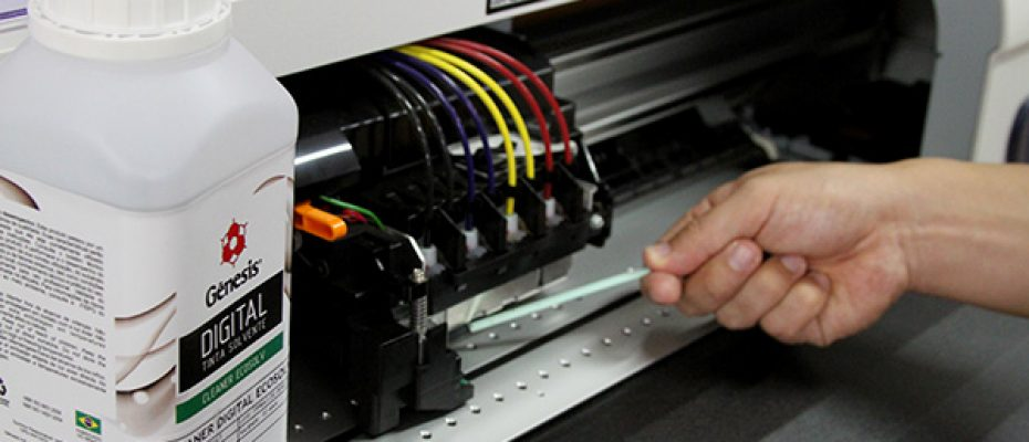 limpar impressora
