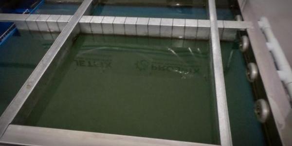 tanque de impressão hidrográfica