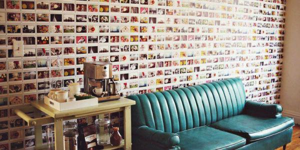 Projetos de decoração utilizando papel fotográfico, em fotos coloridas