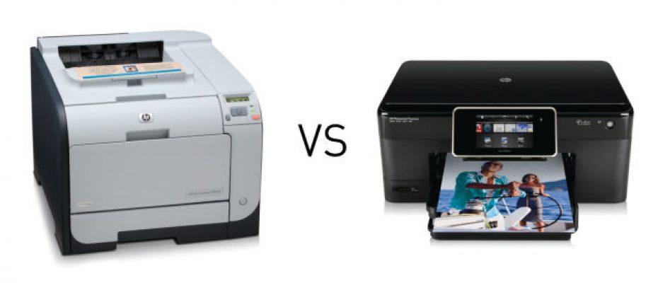 Impressora Laser ou Jato de tinta?