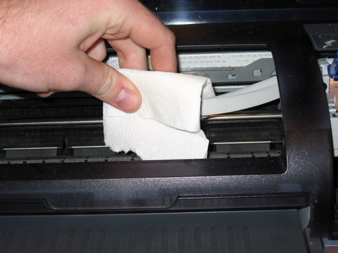 dicas práticas para limpar a impressora