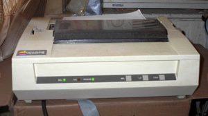 A história da impressão a laser - 12600PS