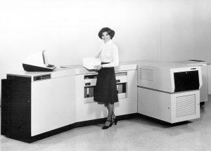 A história da impressão a laser - Xerox 9700