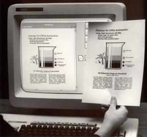 A história da impressão a laser - Xerox Star 8010