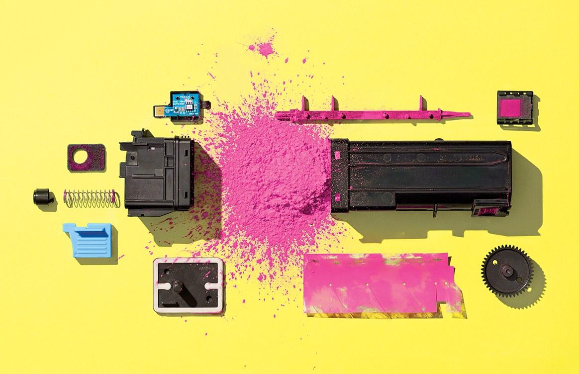 A história da impressão a laser