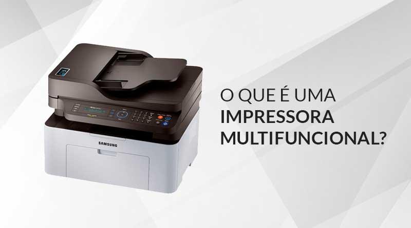 Impressora Multifuncional Samsung modelo Xpress SL-M2070FW Laser o que é uma impressora multifuncional