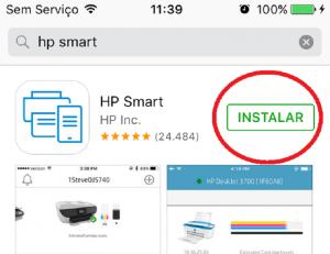 Como Imprimir do Celular para Impressora HP Iphone hp smart 3
