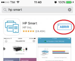 Como Imprimir do Celular para Impressora HP Iphone hp smart 4