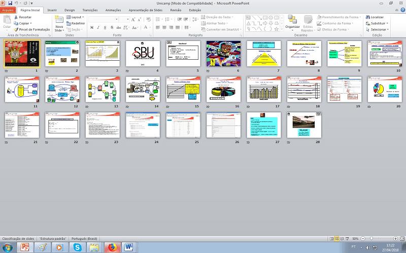 como imprimir slides na folha passo 2