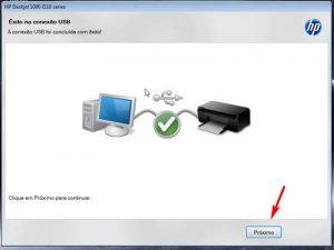 instalar impressora hp 2546 - passo 6