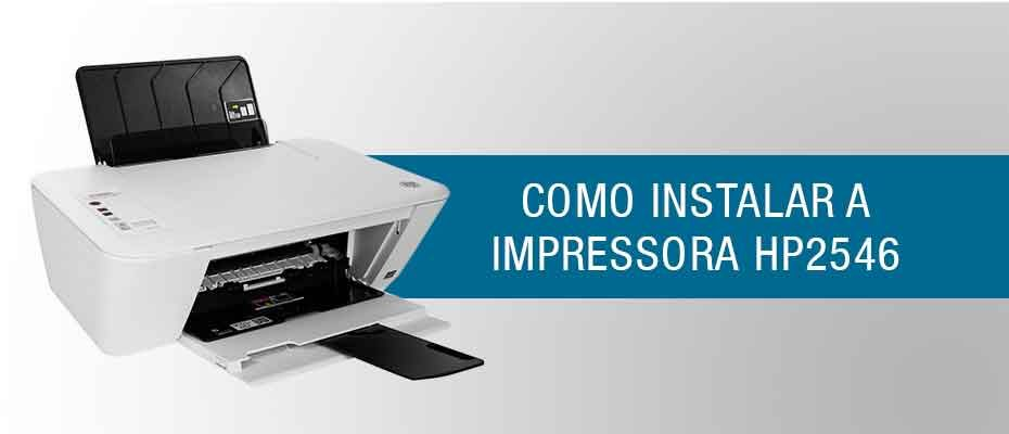 instalar impressora hp 2546 capa