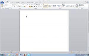 imprimir várias folhas - abrir Word