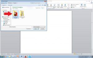 imprimir várias folhas - selecione as imagens na pasta