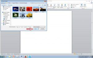 imprimir várias folhas - inserir imagens