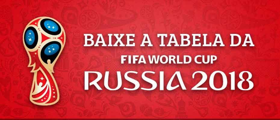 baixar tabela da copa de 2018 russia