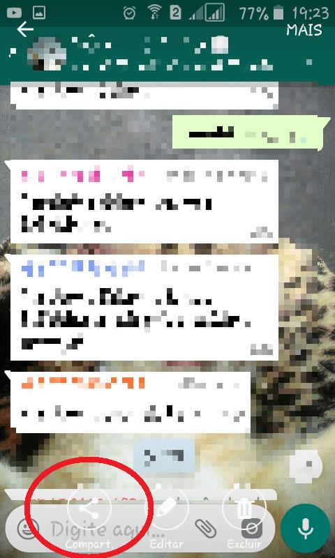 imprimir conversas whatsapp android 3
