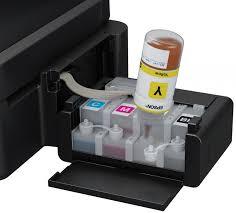 colocando tinta na impressora epson l355
