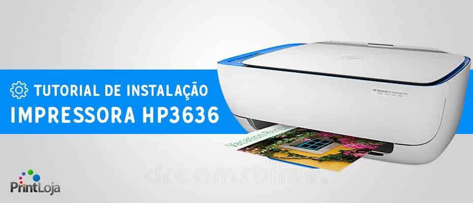 como instalar impressora hp 3636 capa