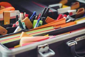 organizar escritorio descarte e organize