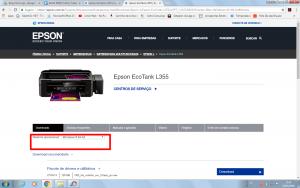 Baixar drive impressora epson l355 grátis