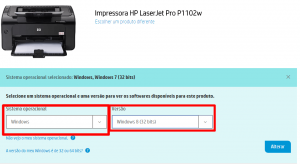 instalar impressora hp p1102w