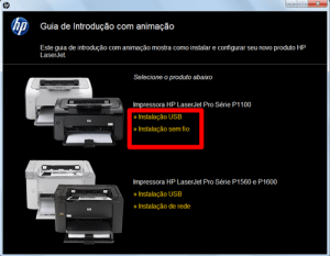 instalar impressora hp p1102w 1