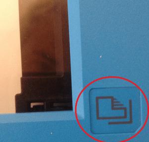 tirar xerox na impressora HP