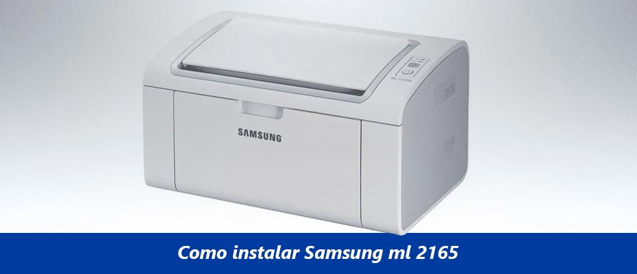 Como-instalar-Samsung-ml-2165