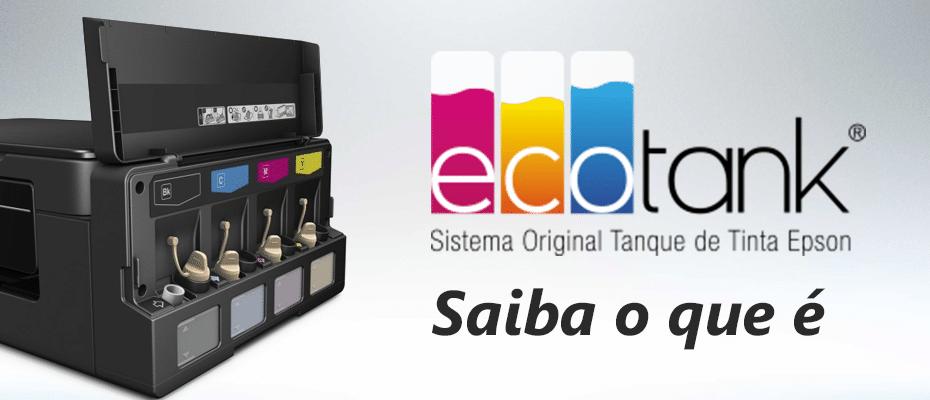 Impressora Epson Ecotank - Saiba o que é