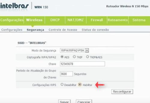 Verificar se precisa habilitar a opção no config do roteador.