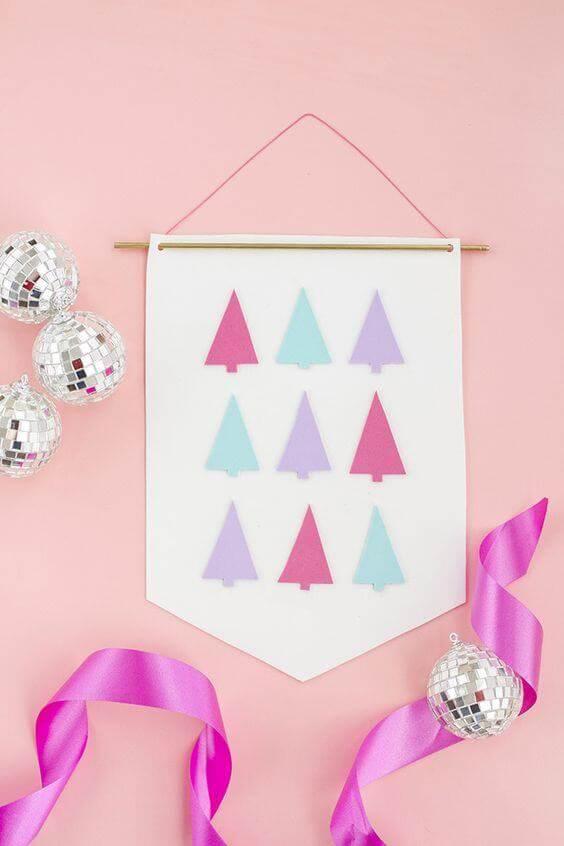 bandeiras e ideias para decorar su casa no natal.
