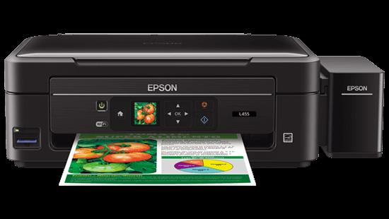 impressora epson ecotank frontal