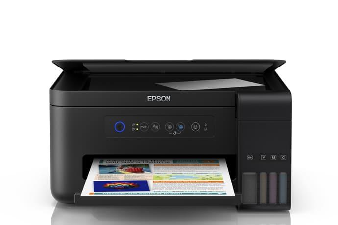 parte frontal da impressora epson l4150