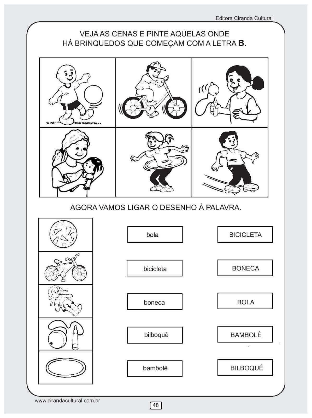 Resultado De Imagem Para Atividades Pedagogicas Para Alfabetizacao