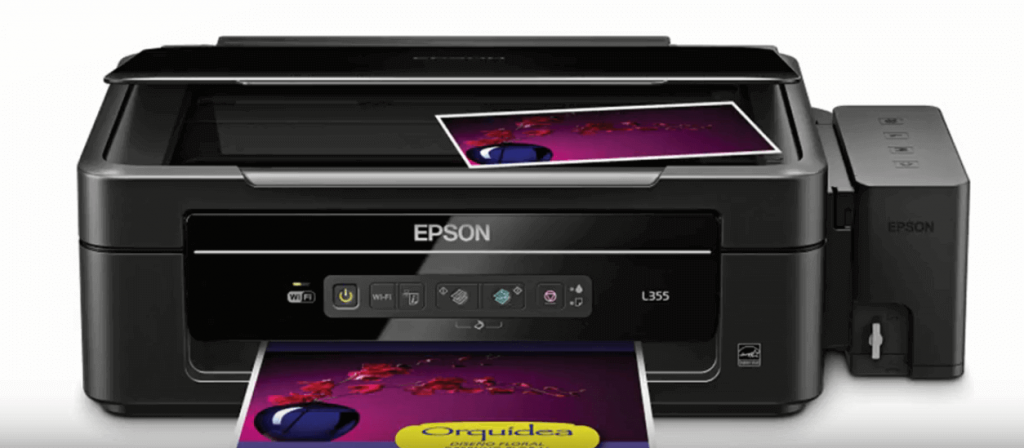 1. Epson L355 frontal.