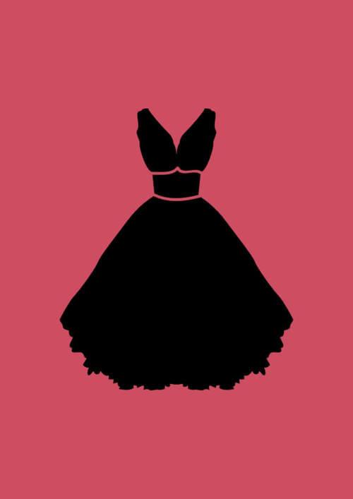 2. Vestido identificando banheiro feminino