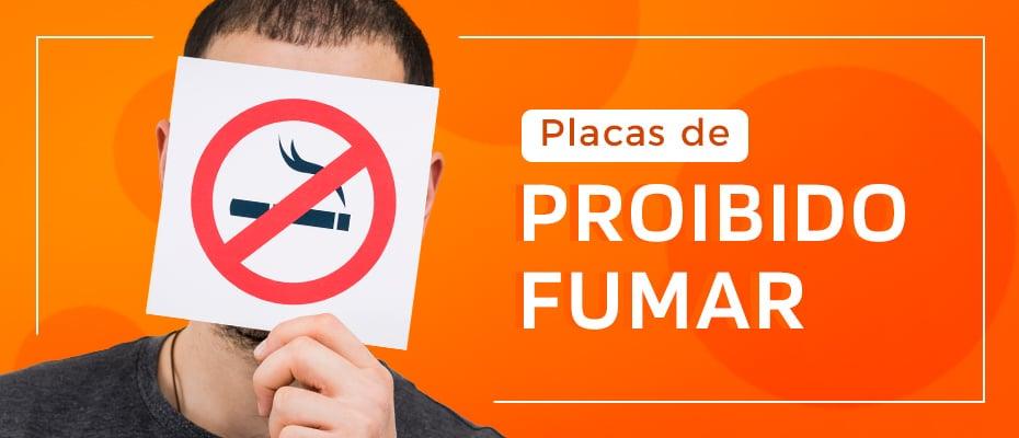 Placas de Proibido Fumar