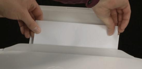 7. Verificar se há papel preso na impressora.