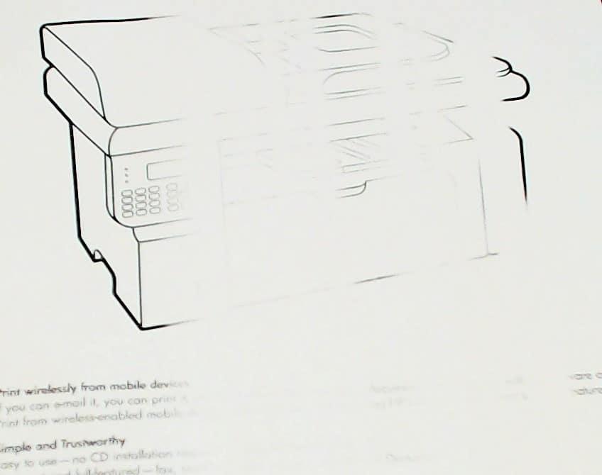 1. Para descobrir se o cabeçote de impressão está falhando, verifique se suas impressões falta imagens ou conteúdo.