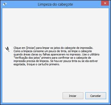 2. Abra o software da impressora Epson e clique na setinha para cima que fica posicionada ao lado do relógio do Windows.
