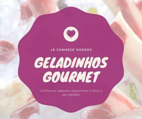 16) Post para facebook, já conhece nossos geladinhos