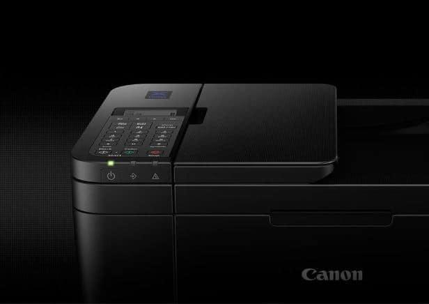 1) Impressora Canon frontal.