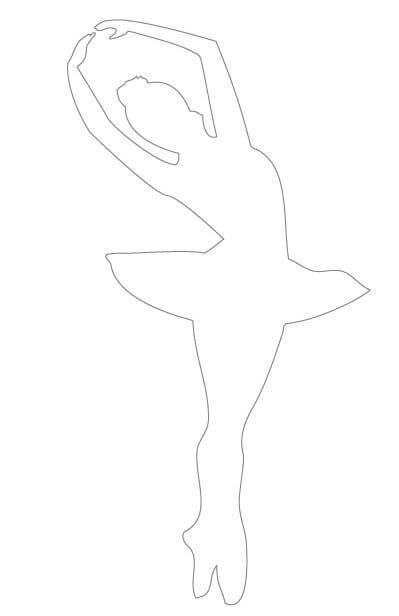 2) Modelo de molde de bailarina, 2.