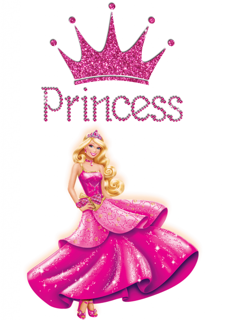 3) Topper de bolo Princesa.