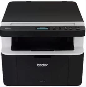 1) Impressora Brother 1512 frontal.