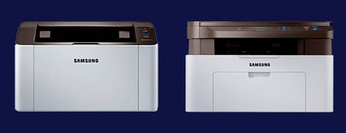 perfil das impressoras samsung