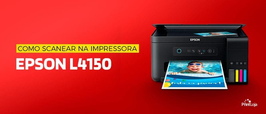 COMO USAR O SCANNER DA IMPRESSORA EPSON L4150