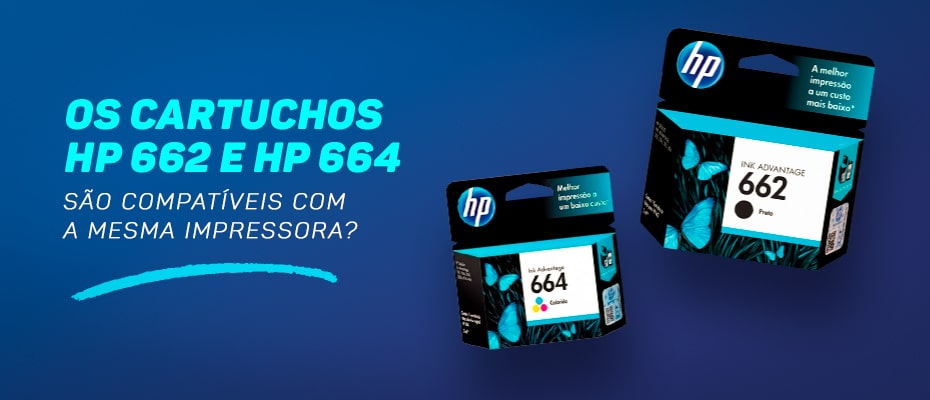 cartucho hp 662 serve no 664