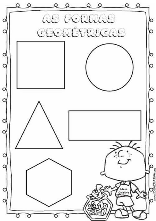 6) Atividade geométricas formas livres.