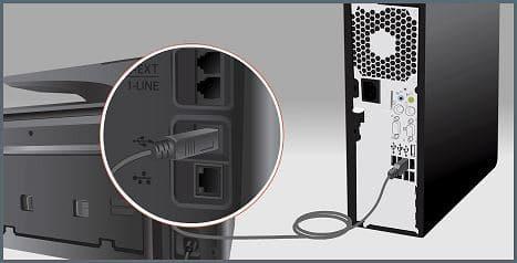 4) Cabo USB desconectado ou estragado impressora brother.